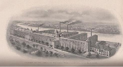 L'histoire des manufactures américaines ...A la conquête de l'Ouest Horloger Waltha18