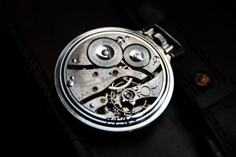 L'histoire des manufactures américaines ...A la conquête de l'Ouest Horloger Waltha23