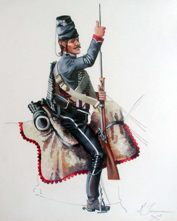 Hussard volontaire du Nord vers 1793 Hussar13