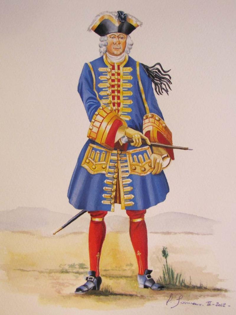 Garde de la prévôté de l' hôtel du roi Offici12