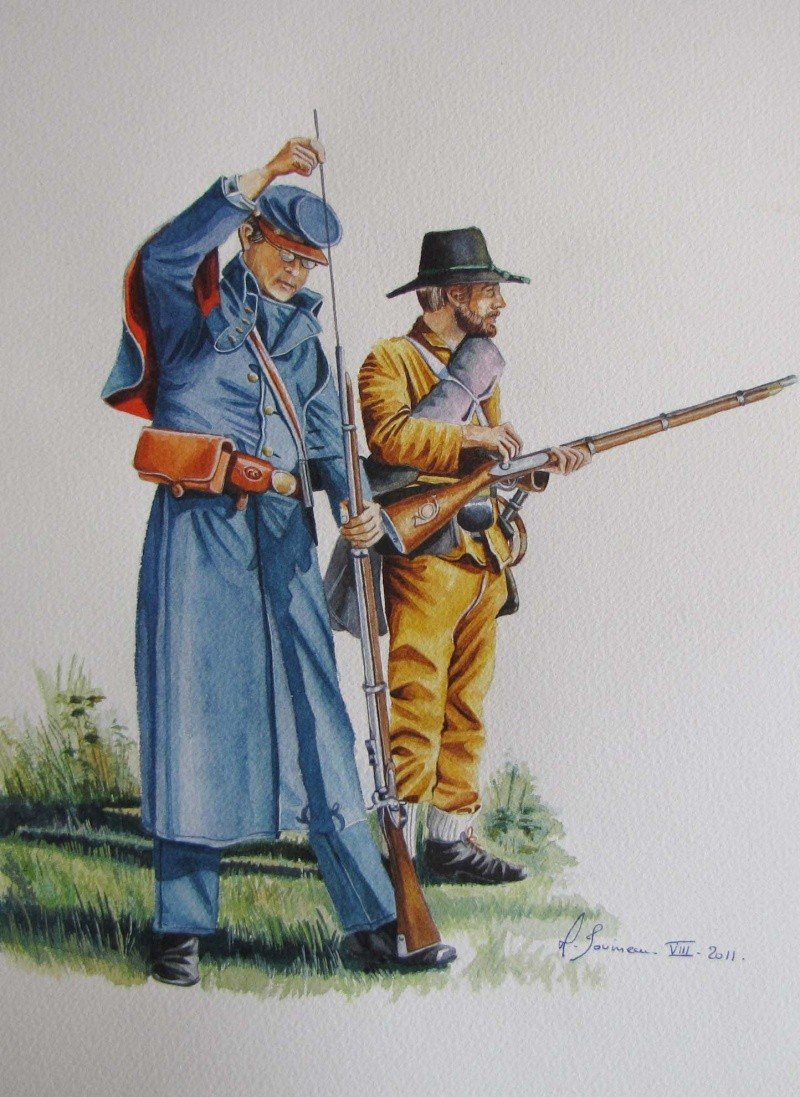 Infanterie sudiste vers 1864 Sudist10