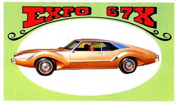 Toronado 67X , création Barris Hotwhe10