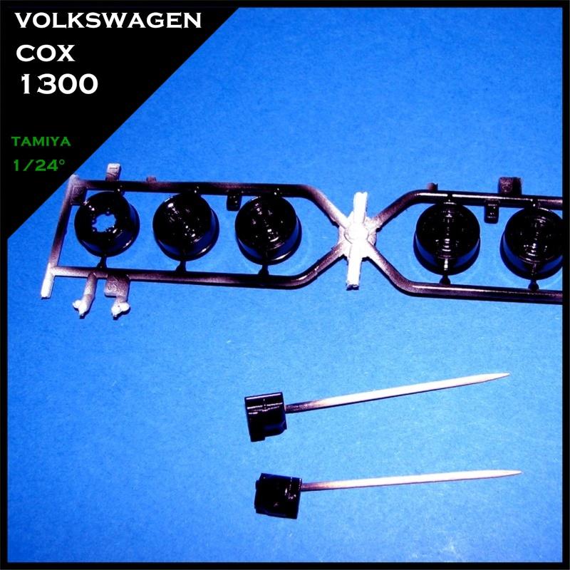 wip cox 1300 1966 tamiya 1/24° Decoup42