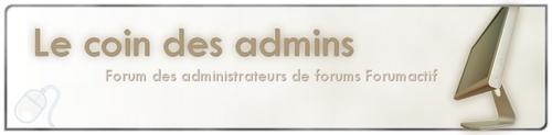 *Le coin des Admins* ( le 3 en 1 ) Logo11