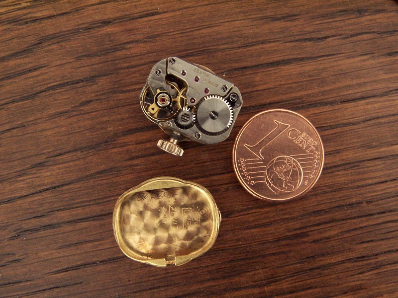 Petit calibre, identification Zenith12