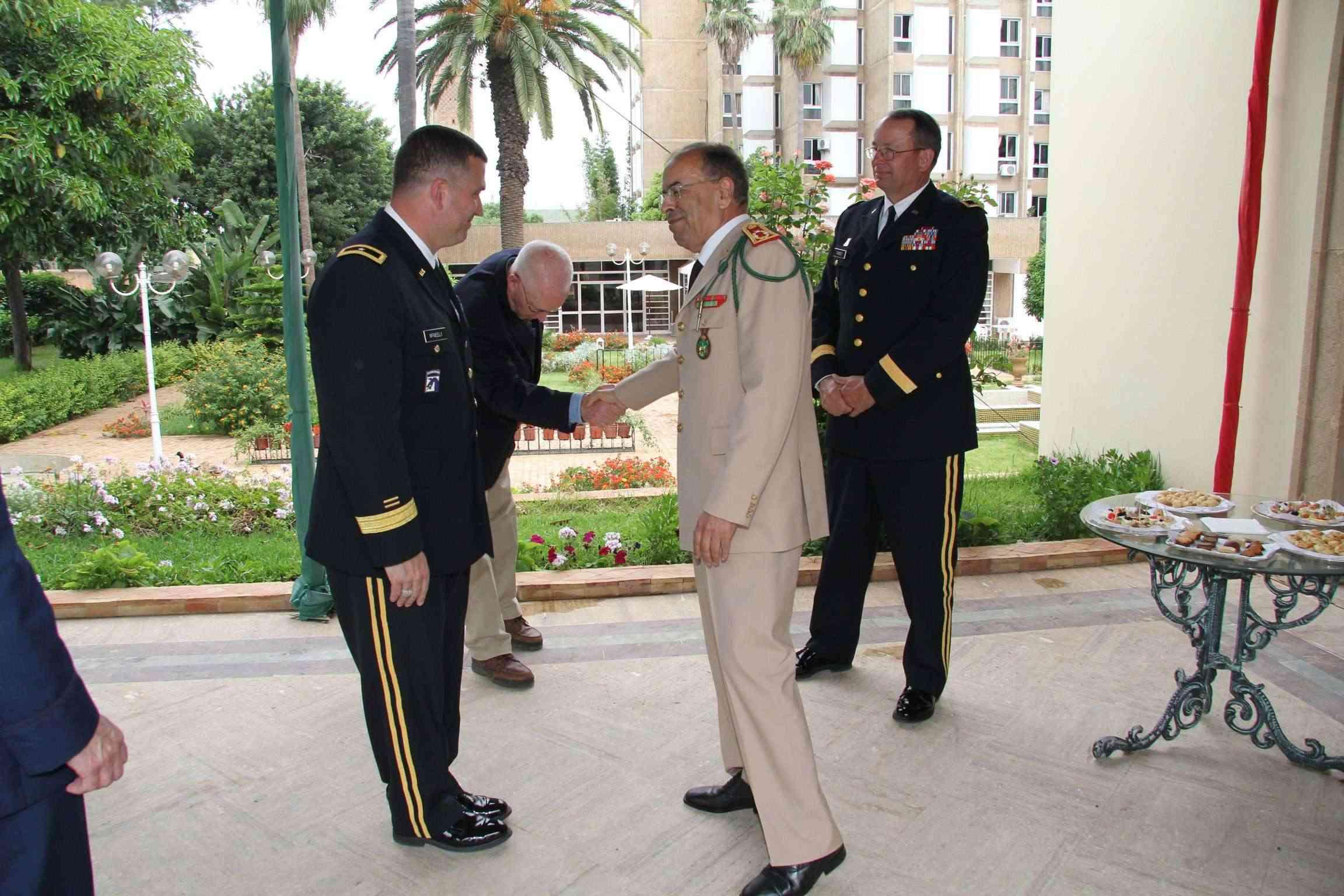 State Partnership Program (SPP) Morocco - Utah / South Carolina ANG 60928012