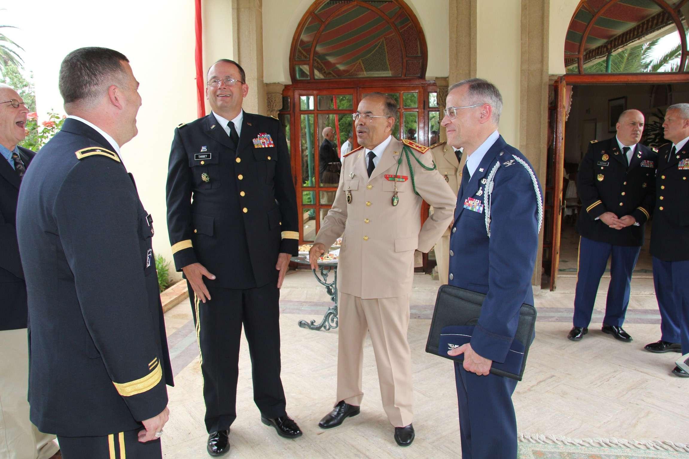 State Partnership Program (SPP) Morocco - Utah / South Carolina ANG 60928013