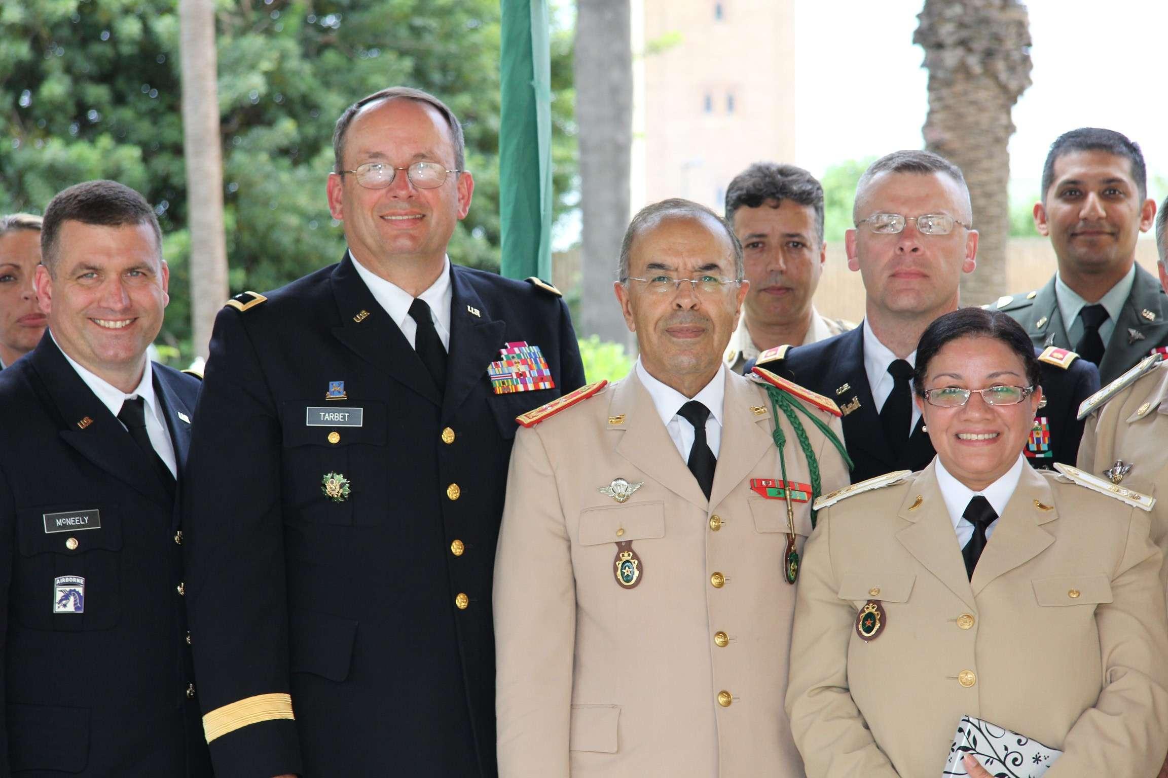 State Partnership Program (SPP) Morocco - Utah / South Carolina ANG 60933511