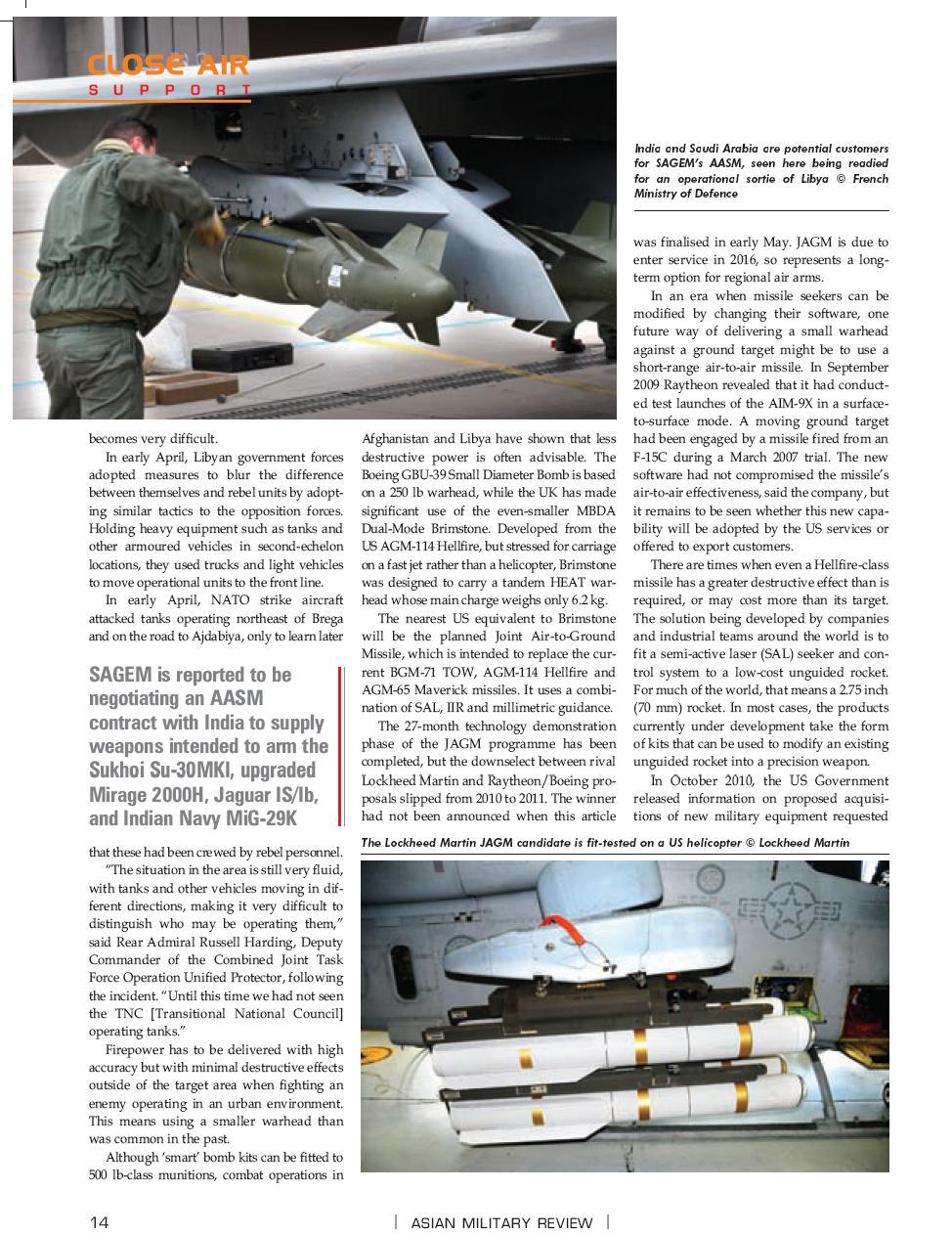 Close Air Support/Appui aérien rapproché (CAS) Cas310