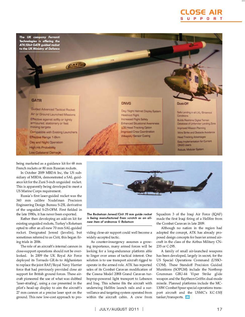 Close Air Support/Appui aérien rapproché (CAS) Cas510