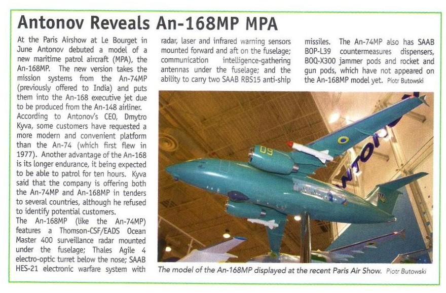 Maritime Patrol Aircraft Mpa10