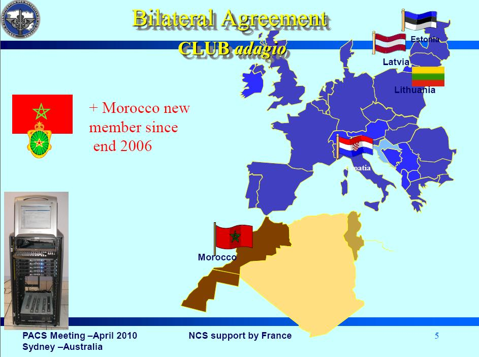 les accords militaires bilateraux Ncs10