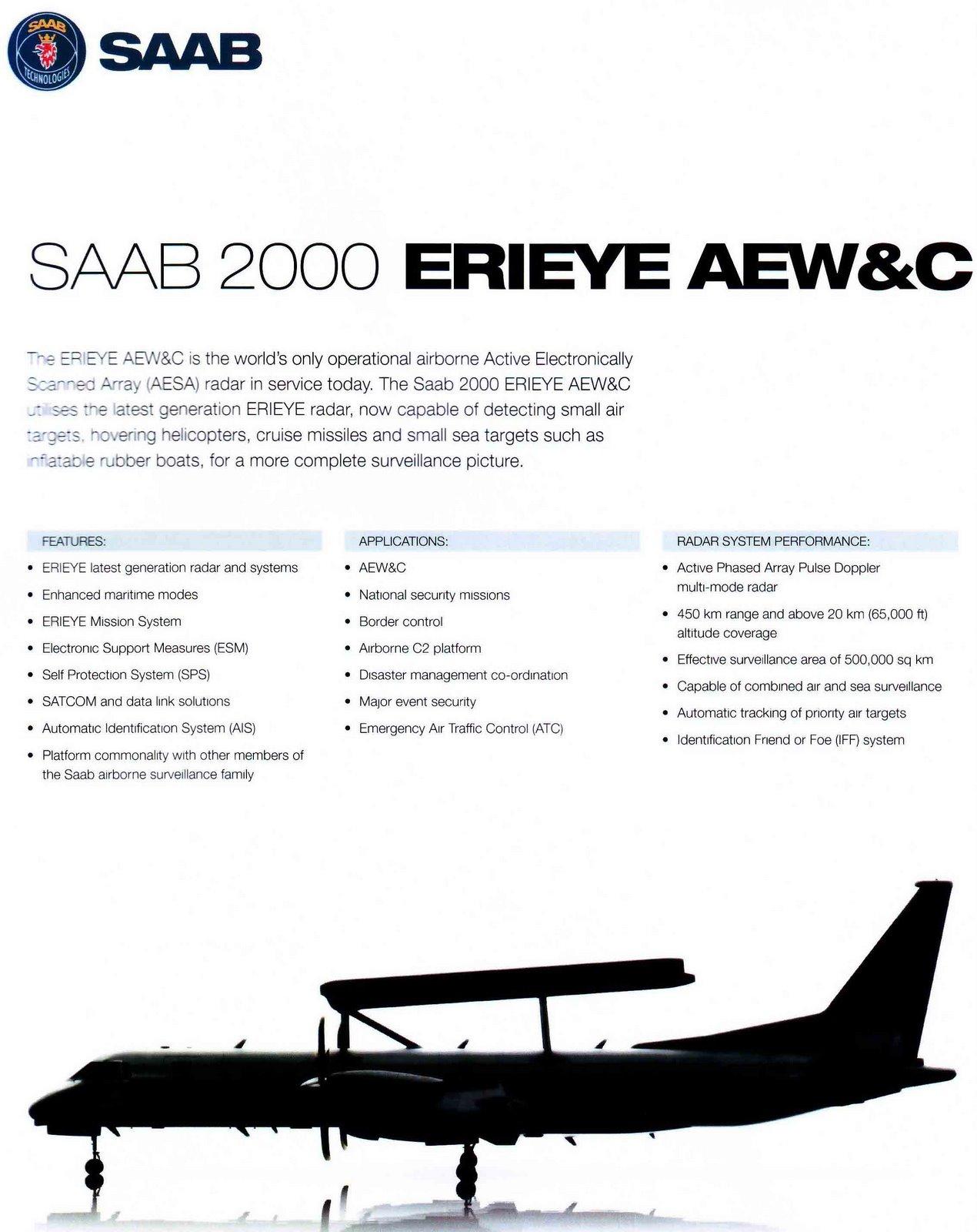 Avions AEW&C Saab_210