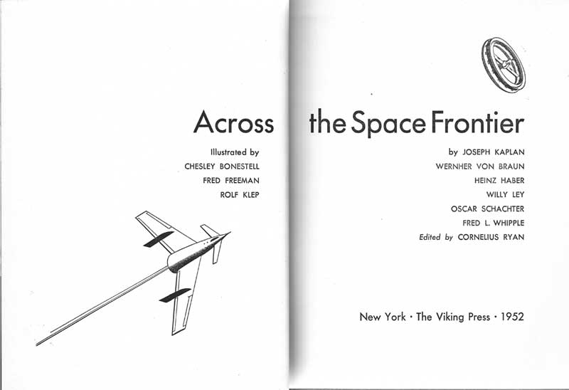 """Livres : """"Across the space frontier"""", collectif Across12"""