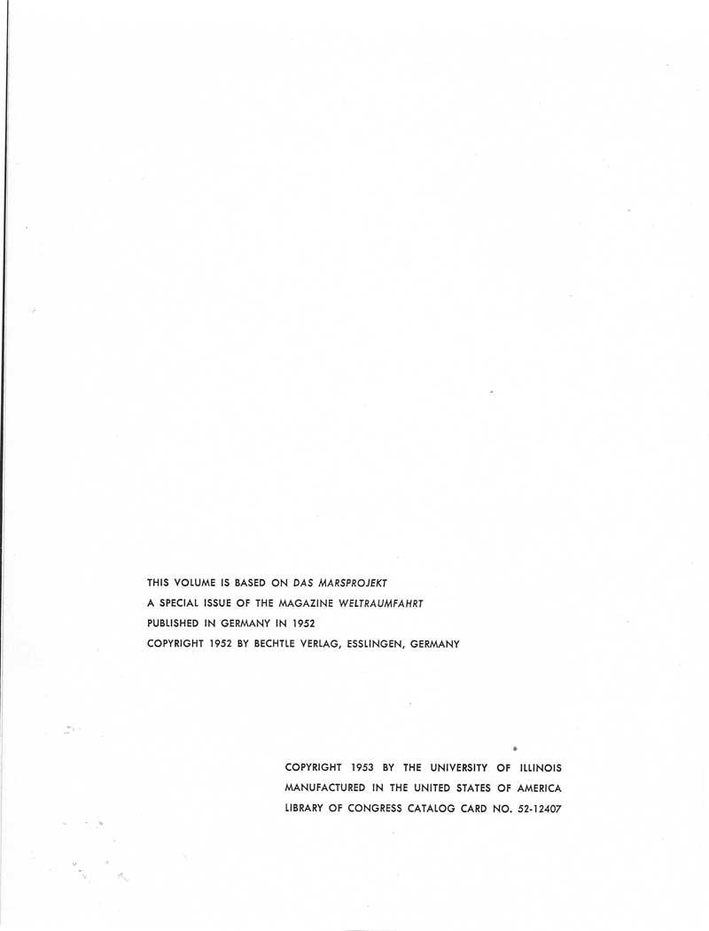 """Livres : """"The Mars project"""" de Von Braun et Ley The-ma12"""