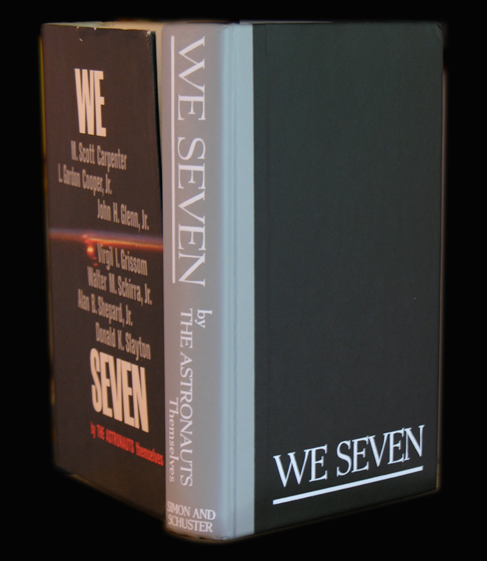 """Livres : """"We seven by the astronauts themselves"""" We-sev10"""