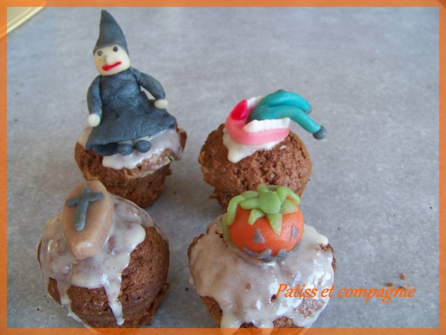 muffins et cupcakes d'halloween - Page 10 Monday10