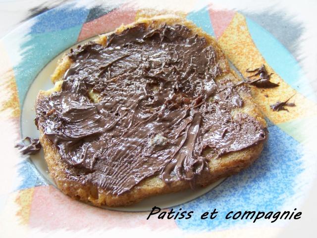 Pain perdu Nutella Pain_p10