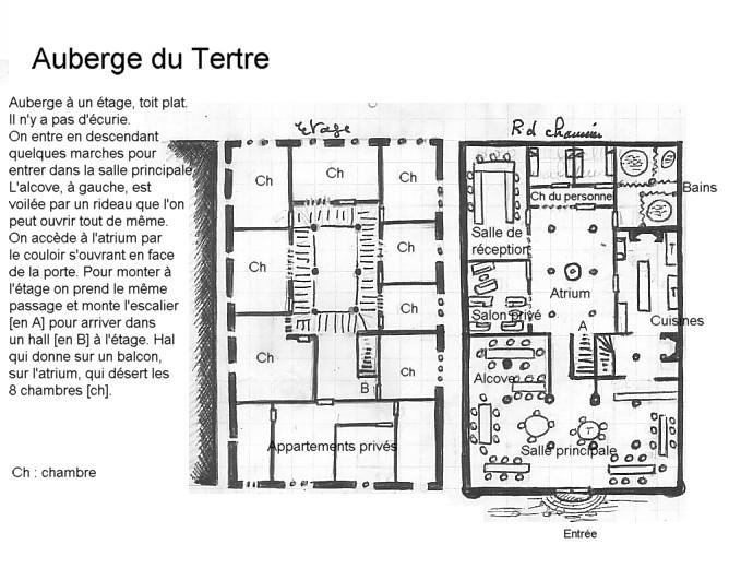 Plan de l'Auberge du Tertre Plan_a10