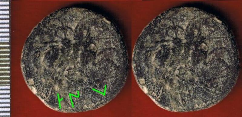 As de Contebacom (A: busto barbado; R: jinete lancero) Cci00034