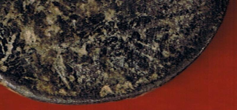 As de Contebacom (A: busto barbado; R: jinete lancero) Cci00035