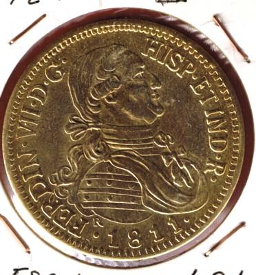 8 Escudos de Fernando VII (Santiago, 1811) Cci00046