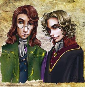 Harry Potter version manga (fanarts) Albus_13