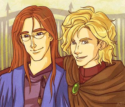 Harry Potter version manga (fanarts) Albus_18