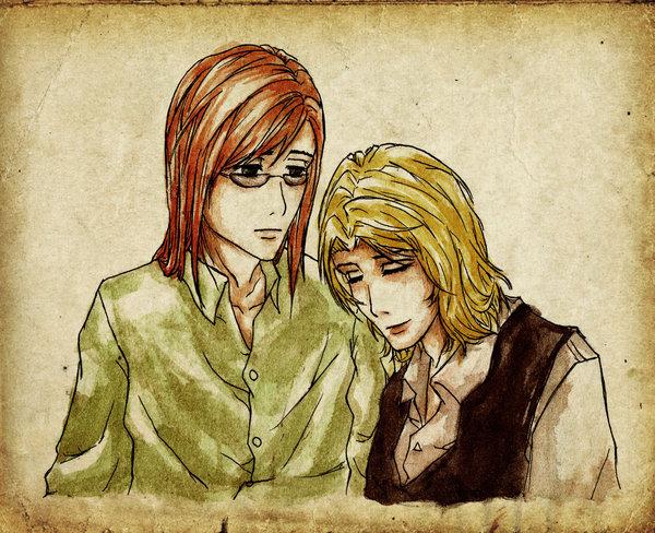 Harry Potter version manga (fanarts) Albus_19
