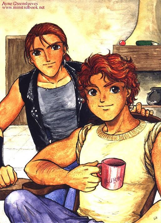 Harry Potter version manga (fanarts) Charli10