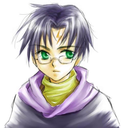 Harry Potter version manga (fanarts) Harry_11