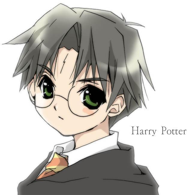 Harry Potter version manga (fanarts) Harry_12