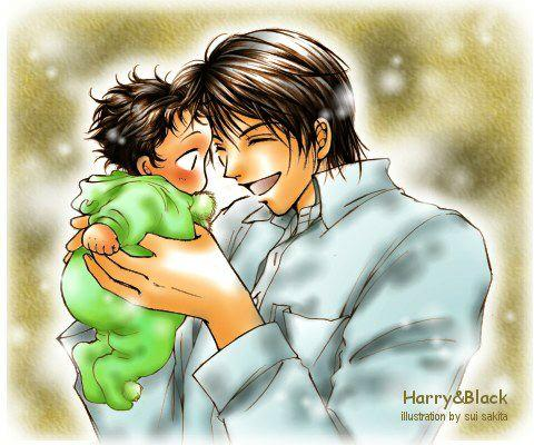 Harry Potter version manga (fanarts) Harry_18