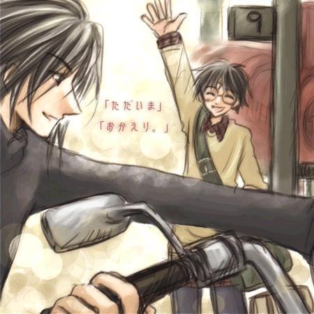 Harry Potter version manga (fanarts) Harry_19
