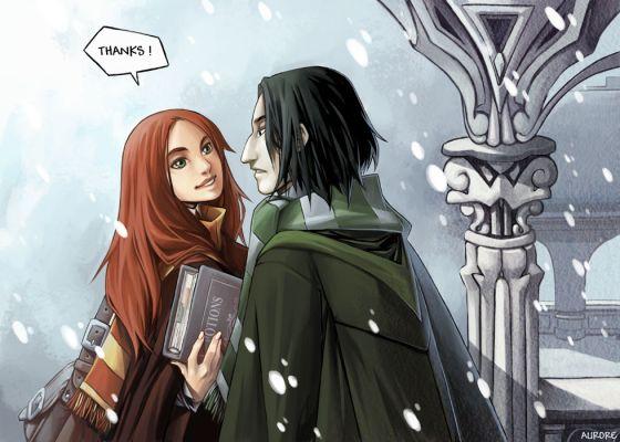 Harry Potter version manga (fanarts) Lily_e10