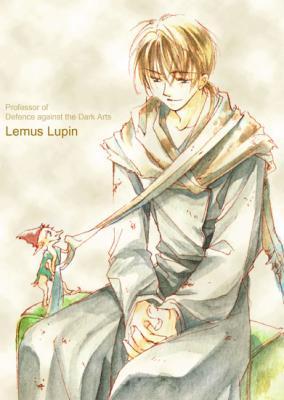 Harry Potter version manga (fanarts) Remus_10
