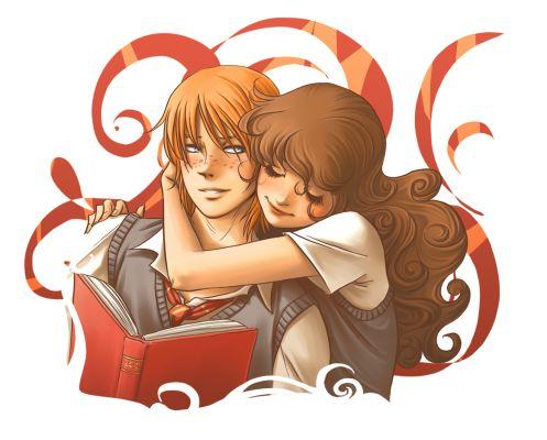 Harry Potter version manga (fanarts) Ron_et10