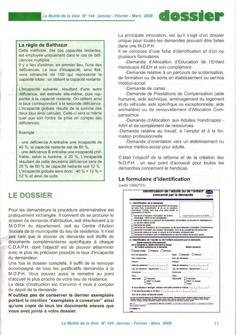 """""""Le Mutilé de la Voix"""" - Carte d'invalidité en France Handic12"""