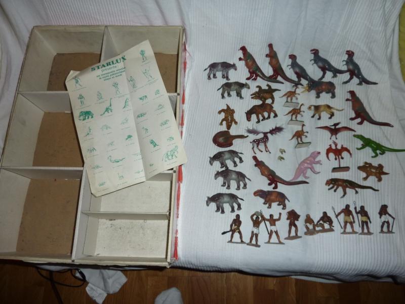 Les figurines Starlux : préhistoire, animaux, soldats etc... P1030614