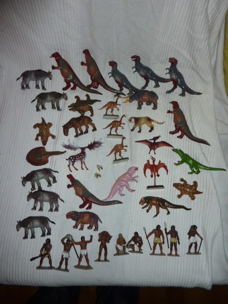 Les figurines Starlux : préhistoire, animaux, soldats etc... P1030615