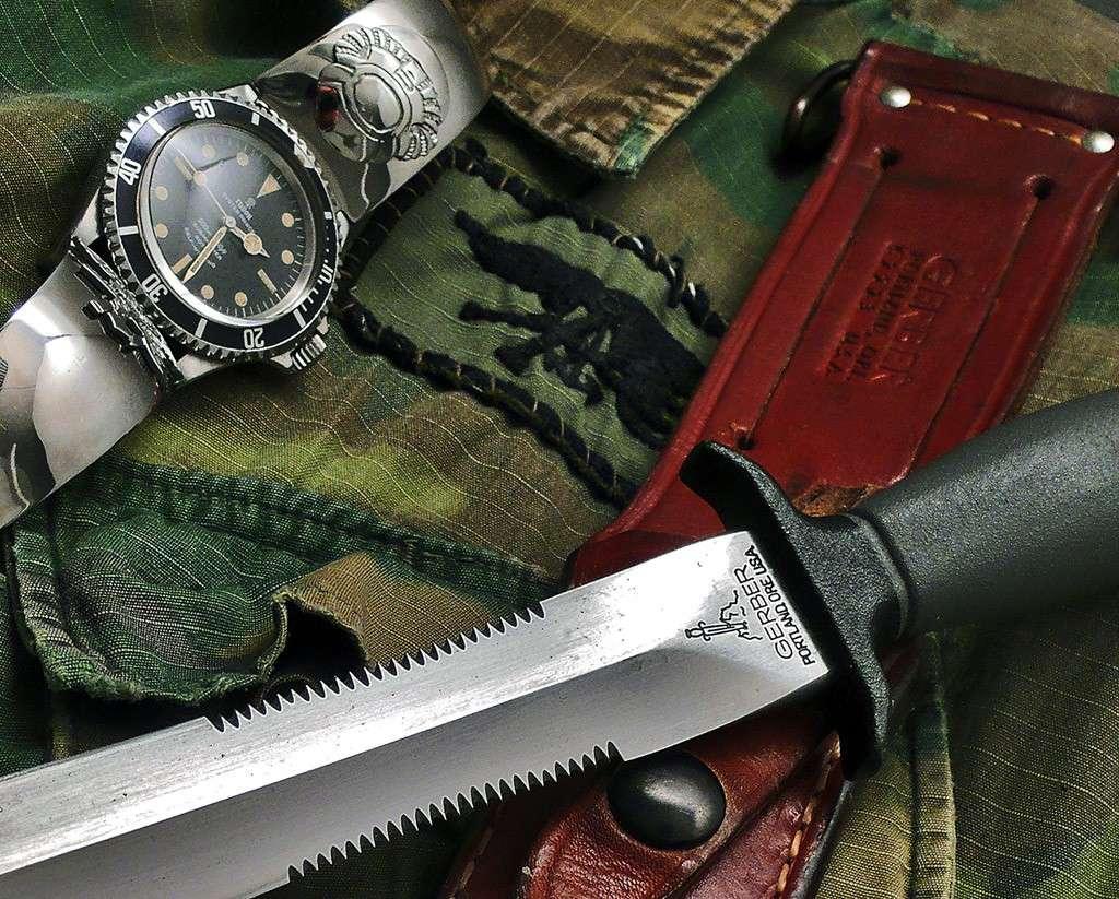 "Suite de ""operation in the Delta"" : Seals and Rolex Gerber14"