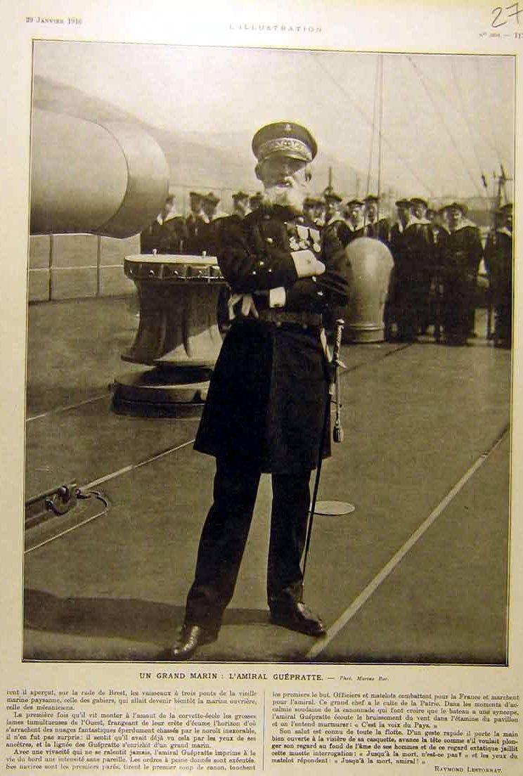 Vice-amiral Guépratte expéditon des Dardanelles (trouvé) - Page 3 Guepra10