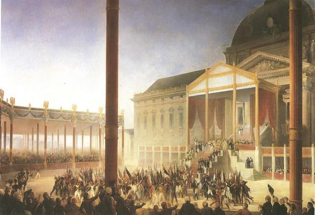 Petit résumé napoléonien par la peinture Champd10