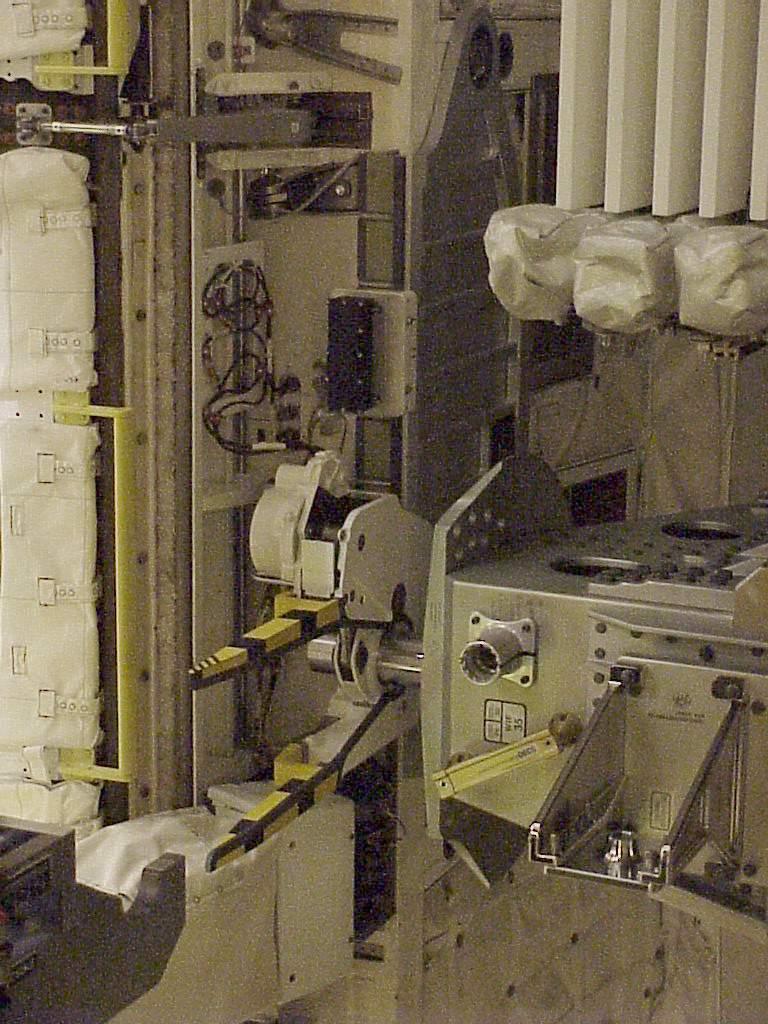 Identification d'éléments sur des modules d'ISS Pb310