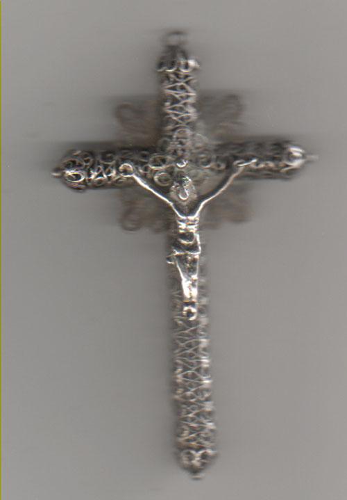 crucifijo de filigrana - s. XIX Cruz_a10
