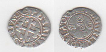 Portugal, 1/2 vintém de Manuel I, (1495-1521) Portug13