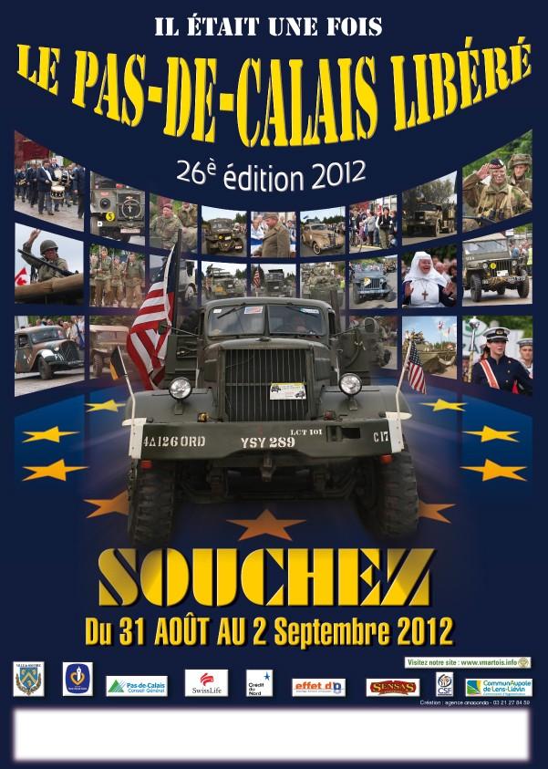 Il était une fois le Pas de Calais libéré 2012 à Souchez Affich21