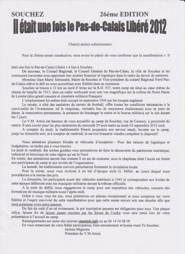 Il était une fois le Pas de Calais libéré 2012 à Souchez Inscri12