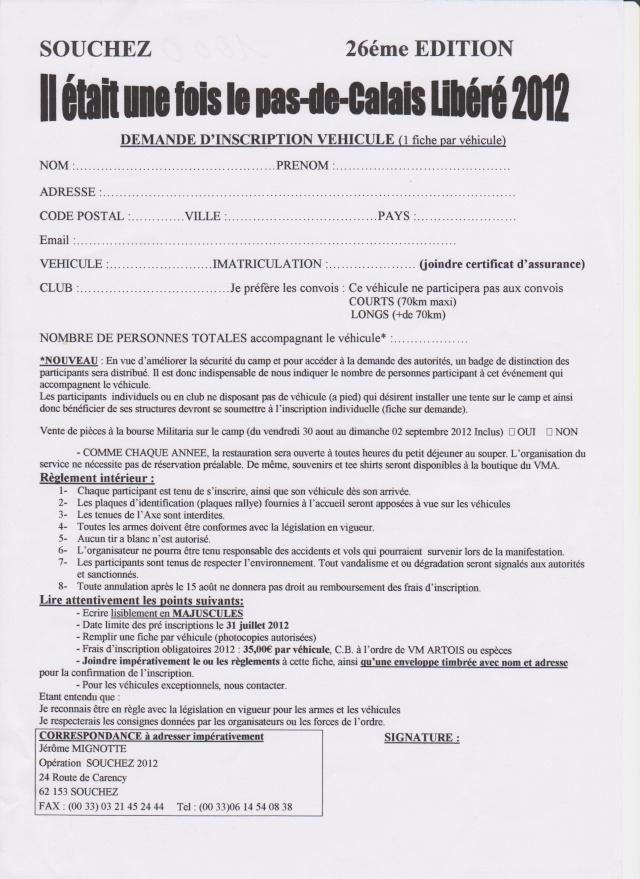 Il était une fois le Pas de Calais libéré 2012 à Souchez Inscri13