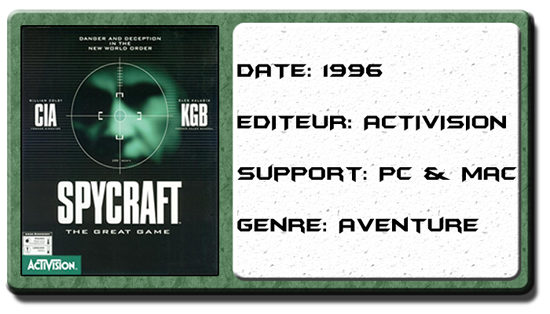 Spycraft : The Great Game (Test PC) Spycra11